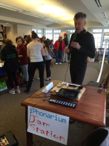The iPhonarium at New Jersey Makers Day, 2016